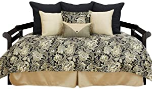 Chooty Valdosta Blackbird Hemmed Daybed Coverlet with Accents at Sears.com