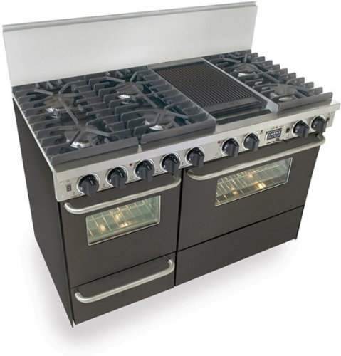 Side By Side Double Oven Range