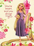 Greeting Card Christmas Tangled You're Smart and You Shine!