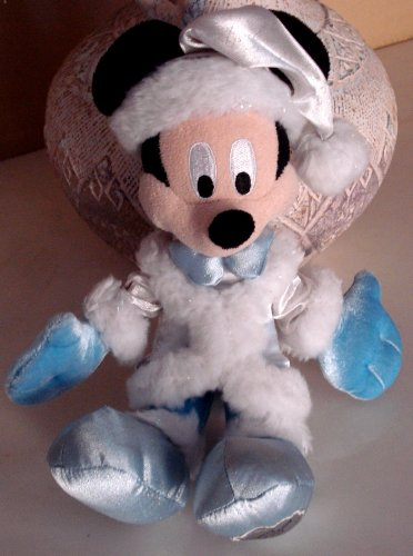 Mickey Mouse Bean Bag Plush - Dreaming of a Disney Holiday - 9 Inches Tall - 1