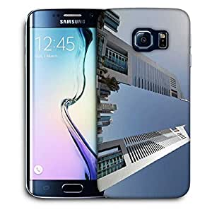 Snoogg Anlge Of The Buidling Printed Protective Phone Back Case Cover For Samsung Galaxy S6 EDGE / S IIIIII