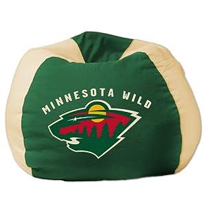 Amazon Com Chicago Blackhawks Bean Bag Chair Sports
