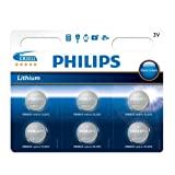 Philips CR2032 3V Lithium MiniCell Batteries (6 Pack)