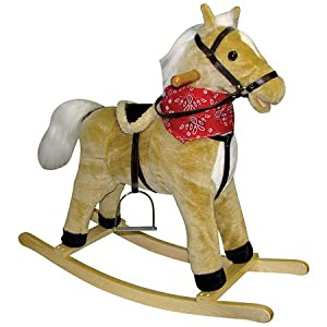 Charm Company Horse Rocker with Sound & Movement