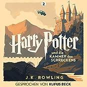 Harry Potter und die Kammer des Schreckens: Gesprochen von Rufus Beck (Harry Potter 2) | J.K. Rowling
