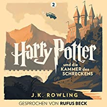 Harry Potter und die Kammer des Schreckens: Gesprochen von Rufus Beck (Harry Potter 2) | Livre audio Auteur(s) : J.K. Rowling Narrateur(s) : Rufus Beck
