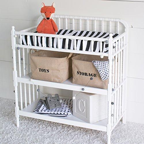 Toy Storage Organizer Bins For Baby Nursery, Bath Organization, Kids  Playroom, Children Closet (2 Pack) Medium ...