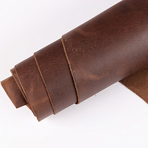 wuta-oil-tanned-cowhide-semi-grain-medium-brown-leather-side-piece-12x24-inches-2-sqft