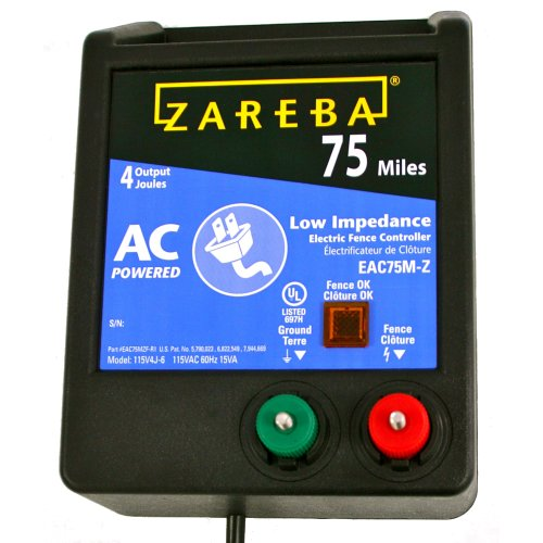 Zareba Eac75M-Z 75-Mile Ac Low Impedence Charger
