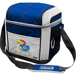 Buy NCAA Kansas Jayhawks 24 Can Soft Sided Cooler by Licensed Products