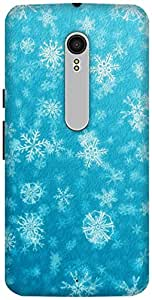 The Racoon Lean Frozen hard plastic printed back case / cover for Motorola Moto X Style