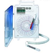 "Supco CR4220 Universal Circular Chart Recorder, 6"" Chart Diameter, 220 VAC"