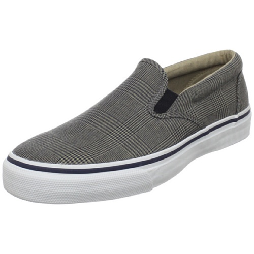 Canvas Deck Shoes  Sperry Top-Sider Men s Striper Slip On Canvas ... a9a486892b68