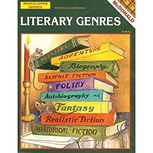 McDonald Publishing Reproducible Workbook - Literary Genres - Grades 6 to 9