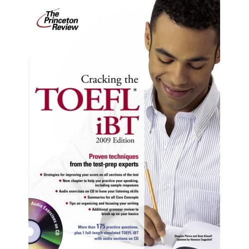 Cracking the TOEFL IBT 2009 Edition (Book with CD)