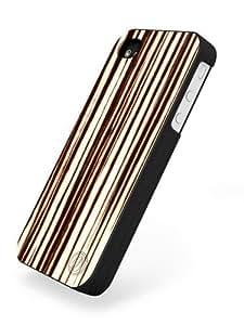 Nussbag Mobile iPhone 4 & 4S Case Bright Macassar Schwarz