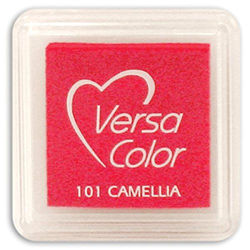 Tsukineko Small-Size VersaColor Ultimate Pigment Inkpad, Camellia