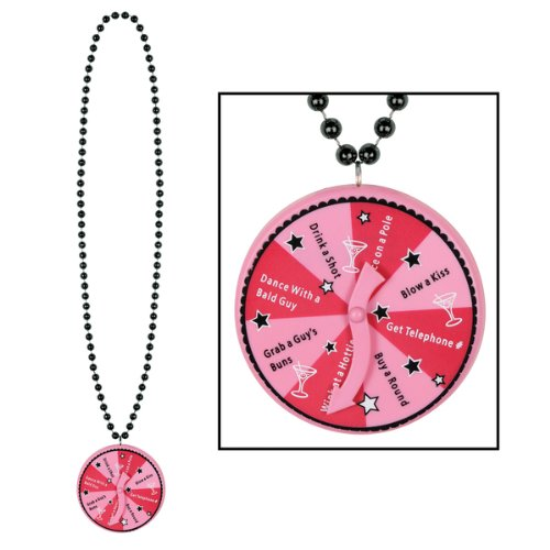 Beads w/Bachelorette Spinner Medallion