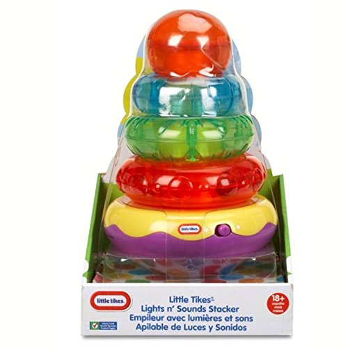 Little Tikes Light n' Sounds Stacker- Green/ Orange