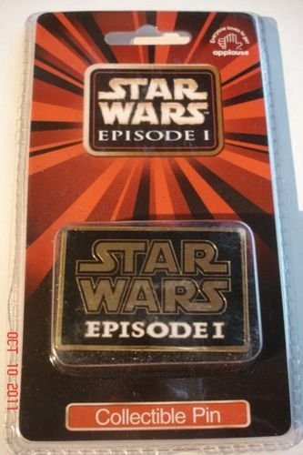 Star Wars Episode 1 Collectible Logo Pin