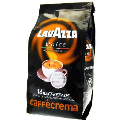 Lavazza Caffè Crema Dolce, 16 Coffee Pods - Pack Of 2