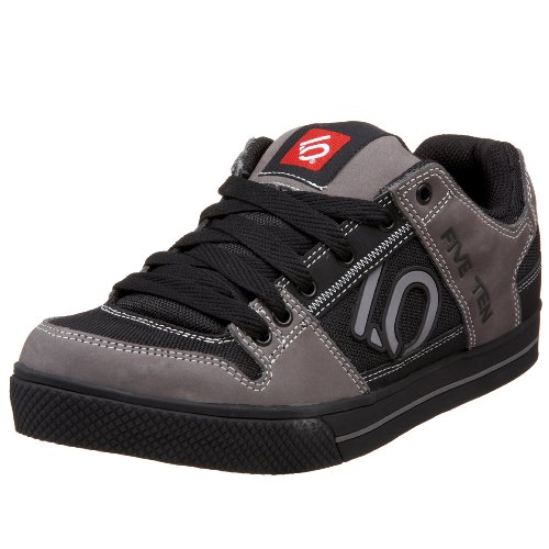 FiveTen Men's Freerider Scribble Casual Bike Shoe,Black/Grey,11 M US