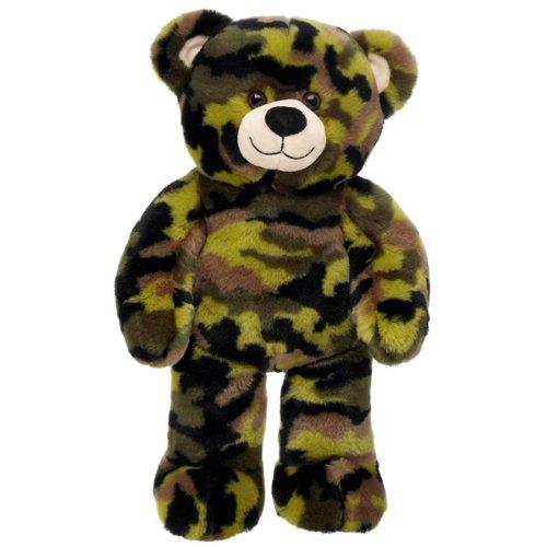 Build-a-Bear Workshop Camo Teddy Bear, 15 in. (Build A Bear Army compare prices)