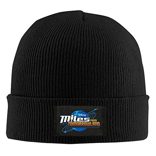 Unisex-Miles-From-Tomorrowland-Galactech-Knit-Beanie-Black