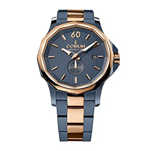 Corum Admirals Cup Legend 42 395-101-34-V705-AB11 42mm Automatic Blue Steel Bracelet & Case Anti-Reflective Sapphire Men's Watch