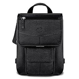 MacCase Premium Leather iPad Flight Jacket (Black)