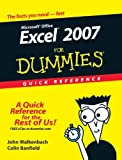 Excel 2007 for Dummies Quick Reference (0470046716) by Walkenbach, John / Banfield, Colin