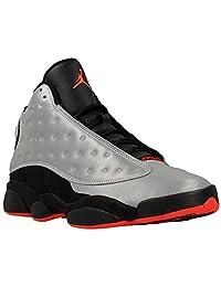 "Nike Mens Air Jordan 13 Retro PRM ""3M Reflective"" Synthetic Basketball Shoes"