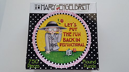 "Mary Englebreit Puzzle ""Let's Put the Fun Back in Dysfunctional"""