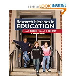 Research Methods in Education Russell K. Schutt