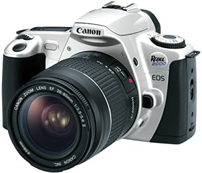 Canon EOS Rebel 2000 35mm SLR Camera Kit with 28-80mm Lens