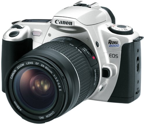 Canon EOS Rebel 2000 35mm Film SLR Camera Kit with 28-80mm Lens (35mm Developer compare prices)