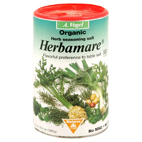 A. Vogel Herbamare Herb Seasoning Salt, Organic, 35.3-Ounce Container