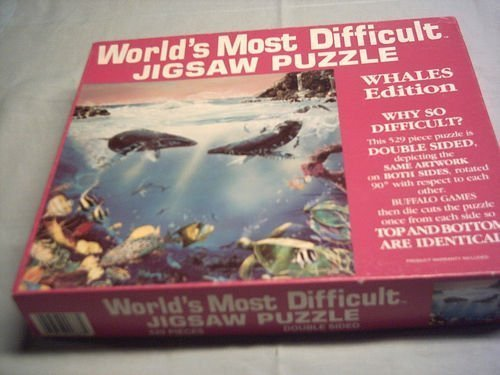 World's Most Difficult Jigsaw Puzzle Whales Edition