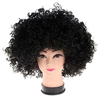 Halloween Wig Performances Wig Curling Fans Explosion Funny Wig