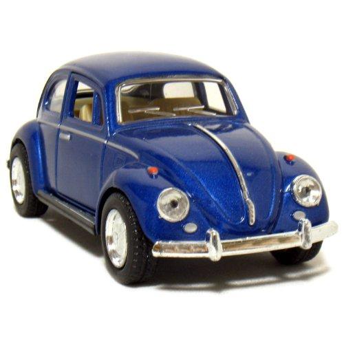 """5"""" 1967 Volkswagen Classic Beetle 1:32 Scale (Blue)"""