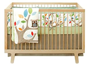 Skip Hop 4 Piece Crib Bedding Set, Treetop Friends