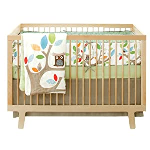 Skip Hop Treetop Friends 4-Piece Crib Set