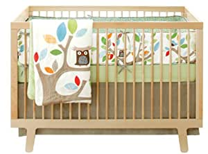 Skip Hop 4 Piece Crib Bedding Set, Treetop Friends (Discontinued by Manufacturer)