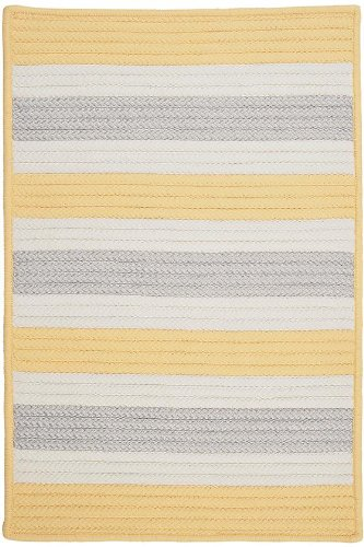 Baxter Area Area Rug, 7'x9', YELLOW SHIMMER