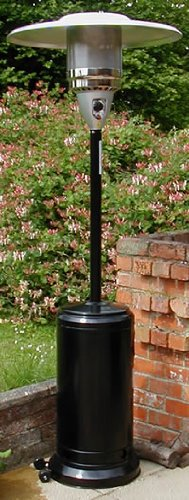 Castmaster Luxury Gas Patio Heater Black