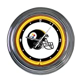 Pittsburgh Steelers 15 inch Neon Clock Amazon.com