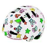 DOPPELGANGER キッズヘルメット [頭周囲:51~55cm 対象年齢目安:3歳8歳]ベンチレーション配置 CE適合/製品安全基準合格品 手洗い可能インナーパッド BMXベースモデル DHL270-ML