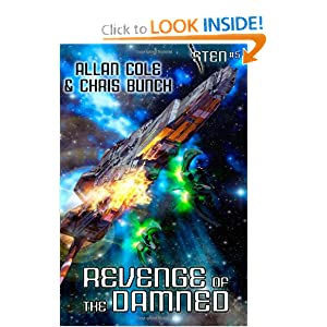 Revenge of the Damned (Sten #5) by Allan Cole and Chris Bunch