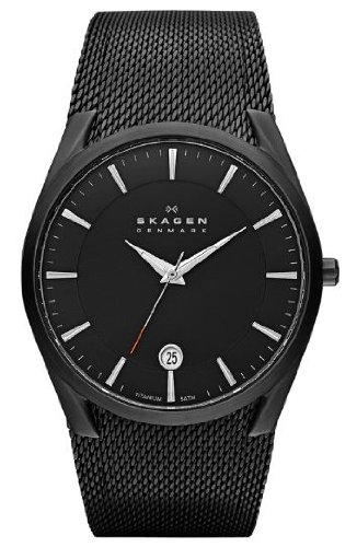 Skagen Analog Black Dial Men's Watch SKW6009
