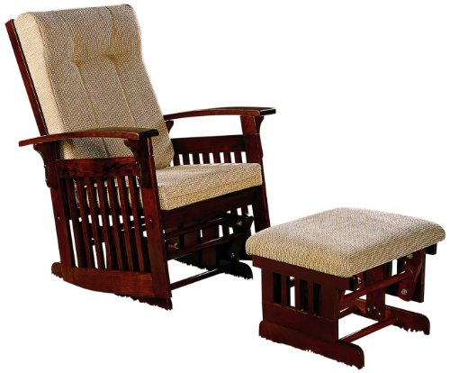 Baby Glider And Ottoman front-111241